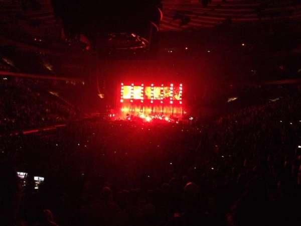 Madison Square Garden, secção: 103, fila: 14, lugar: 20