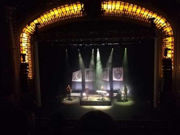 Orpheum Theatre (Boston), secção: Mezzanine C, fila: C, lugar: 206