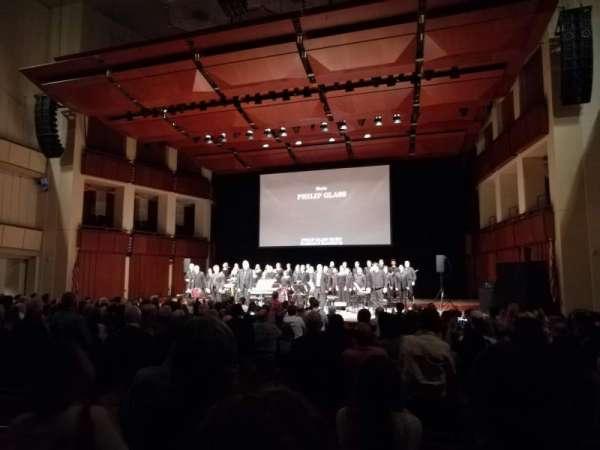 The Kennedy Center Concert Hall, secção: Orchestra, fila: Q, lugar: 8