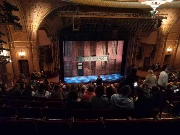 Al Hirschfeld Theatre, secção: MEZZL, fila: S, lugar: 9