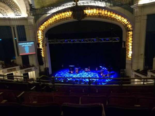 Orpheum Theatre (Boston), secção: Balcony RC, fila: H, lugar: 108