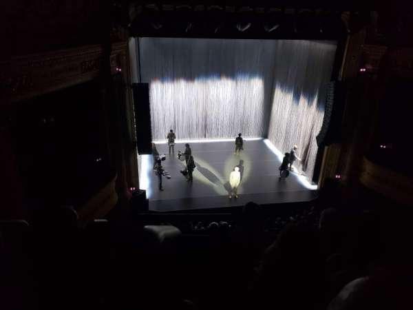 Hudson Theatre, secção: Balcony C, fila: D, lugar: 101