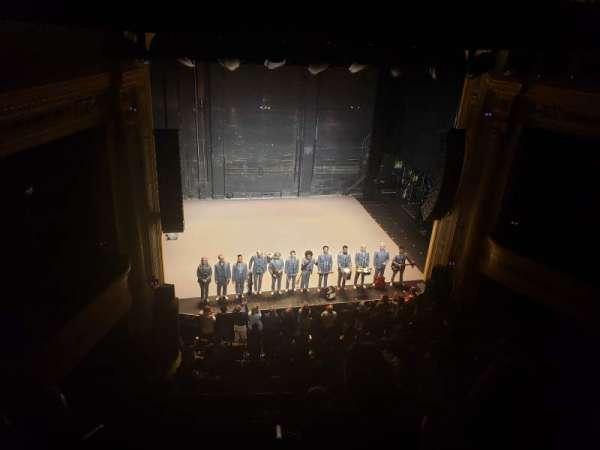 Hudson Theatre, secção: Balcony Center, fila: D, lugar: 101