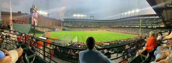 Oriole Park at Camden Yards, secção: 87, fila: 2, lugar: 11