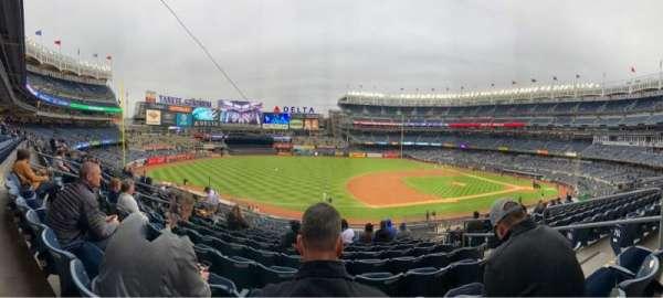 Yankee Stadium, secção: 227A, fila: 10, lugar: 5