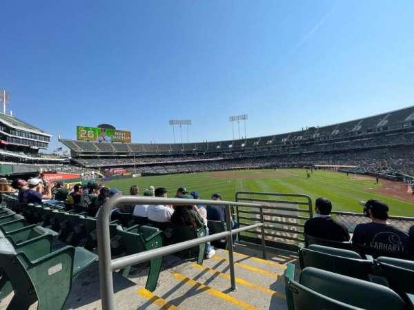 Oakland Coliseum, secção: 134B, fila: 31, lugar: 14