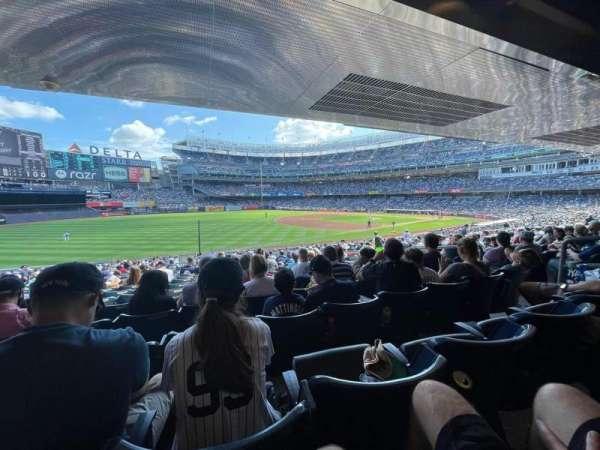 Yankee Stadium, secção: 129, fila: 29, lugar: 7