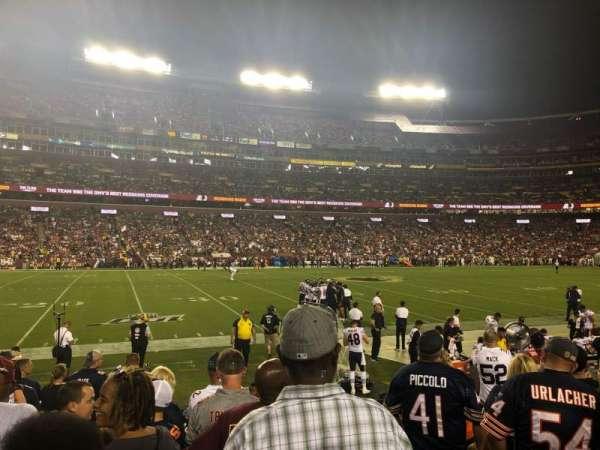 FedEx Field, secção: 124, fila: 6, lugar: 1