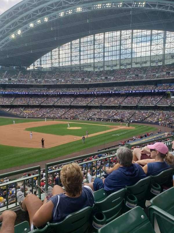 American Family Field, secção: 228, fila: 3, lugar: 11