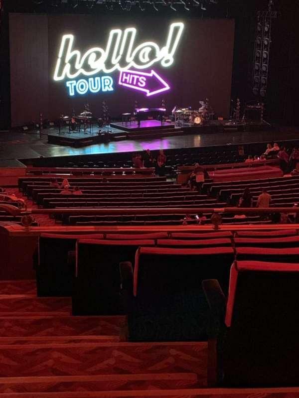 Radio City Music Hall, secção: 1st Mezzanine 7, fila: G, lugar: 701