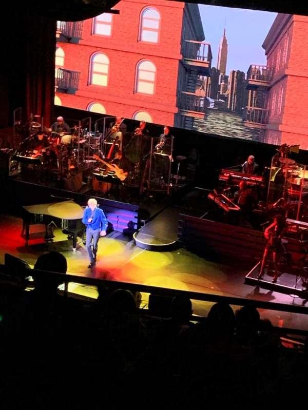 Lunt-Fontanne Theatre, secção: Rear Mezzanine R, fila: C, lugar: 2