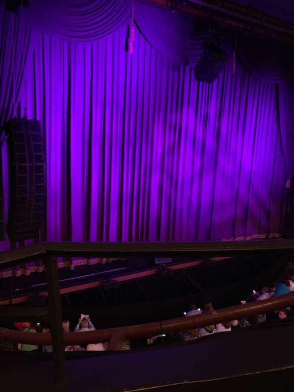 Lunt-Fontanne Theatre, secção: Front Mezzanine L, fila: A, lugar: 9