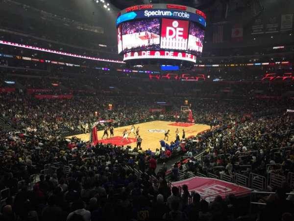 Staples Center, secção: 205, fila: 1, lugar: 5