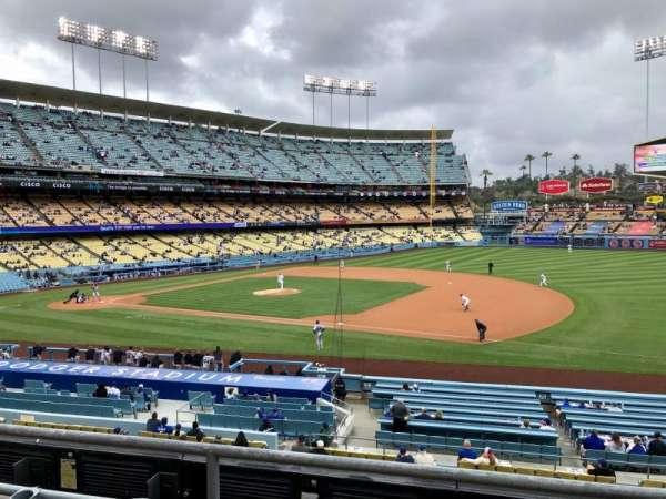 Dodger Stadium, secção: 140LG, fila: C, lugar: 8