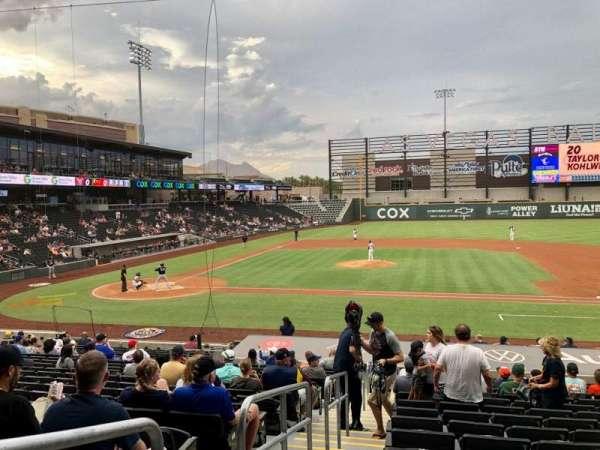 Las Vegas Ballpark, secção: 107, fila: V, lugar: 1