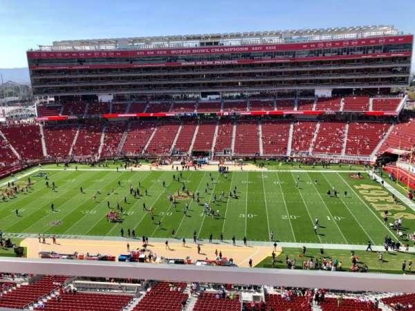 Levi's Stadium, secção: 313, fila: 1, lugar: 16
