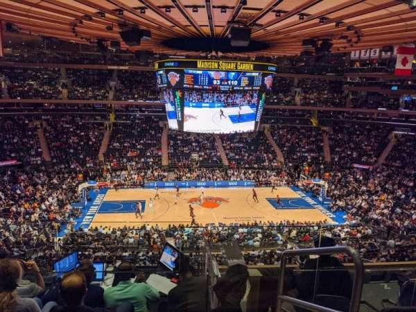 Madison Square Garden, secção: 223, fila: 6, lugar: 22