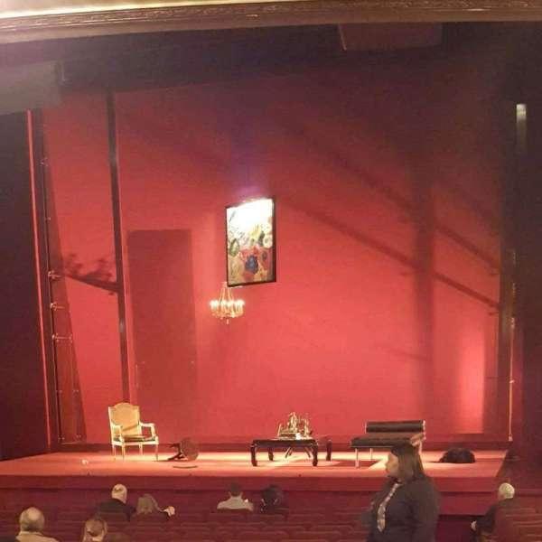 Ethel Barrymore Theatre, secção: Orchestra R, fila: P, lugar: 2