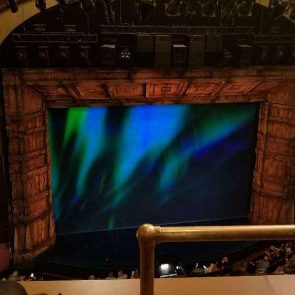 St. James Theatre, secção: Balcony L, fila: B, lugar: 1