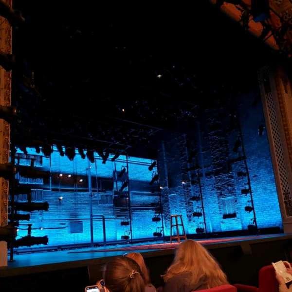 Cort Theatre, secção: Orchestra L, fila: C, lugar: 9