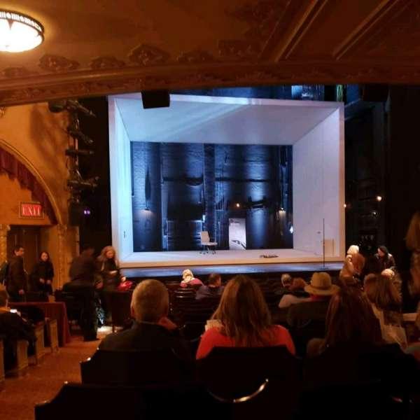 John Golden Theatre, secção: Orchestra C, fila: Q, lugar: 118