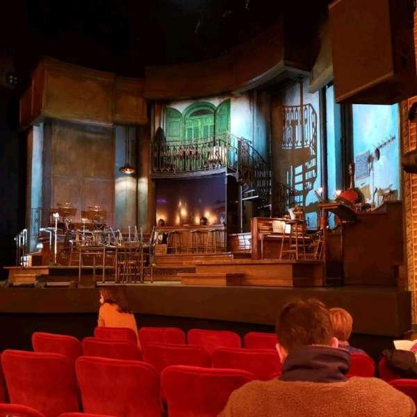 Walter Kerr Theatre, secção: Orchestra R, fila: G, lugar: 8
