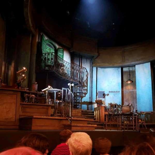 Walter Kerr Theatre, secção: Orch, fila: E, lugar: 7