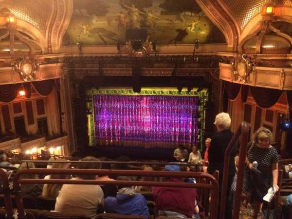 Hippodrome Theatre, secção: Center Balcony, fila: N, lugar: 317