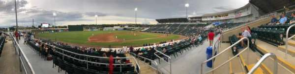 Hammond Stadium at CenturyLink Sports Complex, secção: 216, fila: 1, lugar: 3