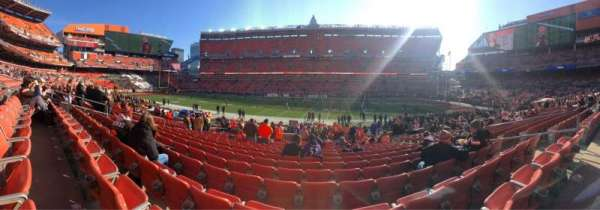 FirstEnergy Stadium, secção: 135, fila: 17, lugar: 15