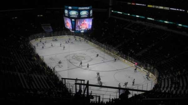 Bridgestone Arena, secção: 331, fila: M, lugar: 2