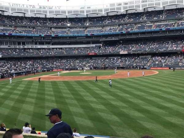 Yankee Stadium, secção: 203, fila: 6, lugar: 5
