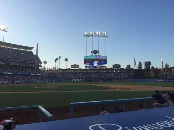 Dodger Stadium, secção: 6DG, fila: BB, lugar: 3