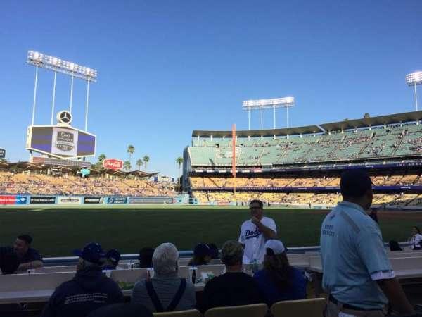 Dodger Stadium, secção: 45FD, fila: B, lugar: 3