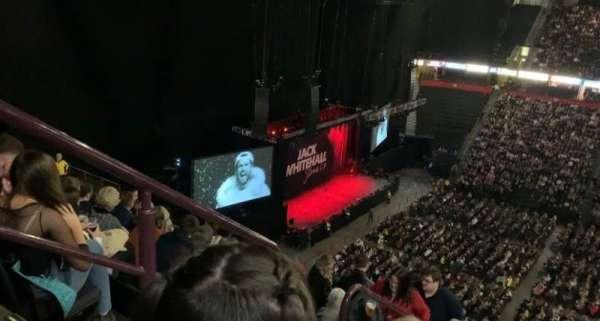 Manchester Arena, secção: 203, fila: P, lugar: 2