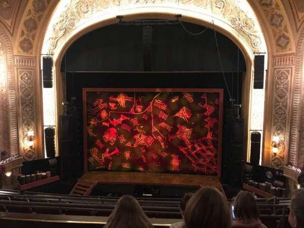 Paramount Theatre (Seattle), secção: Mez13, fila: D, lugar: 11