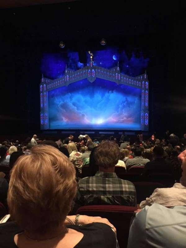 San Jose Center For The Performing Arts, secção: Orch, fila: 18, lugar: 19