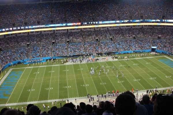 Bank of America Stadium, secção: 516, fila: 26, lugar: 14