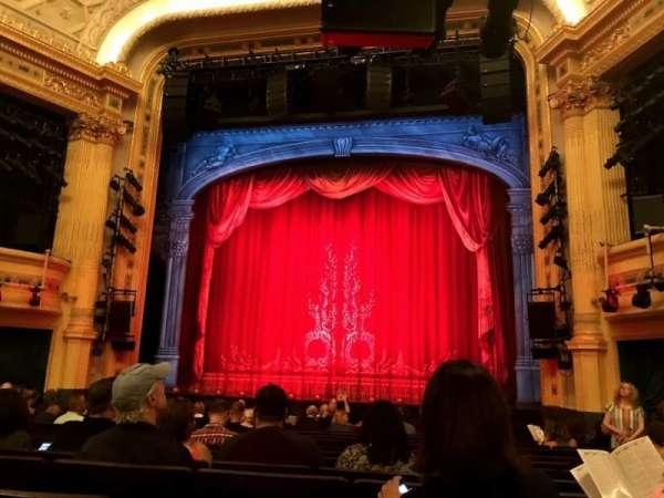 Hudson Theatre, secção: Orchestra C, fila: P, lugar: 115