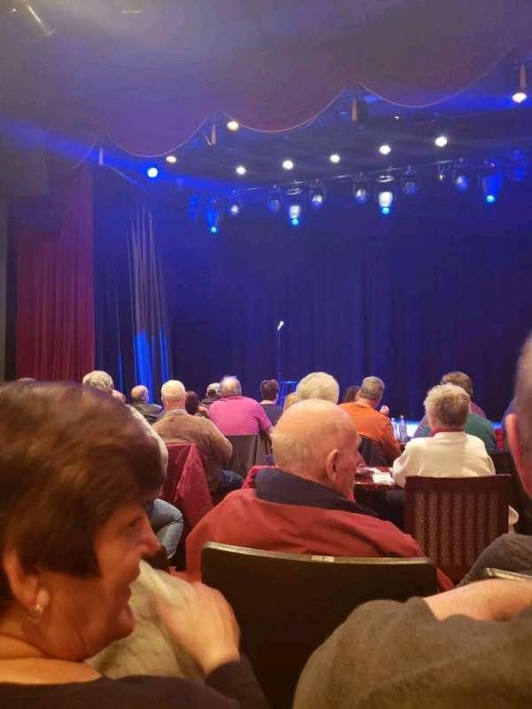 Sellersville Theater, secção: Front, fila: C, lugar: 3