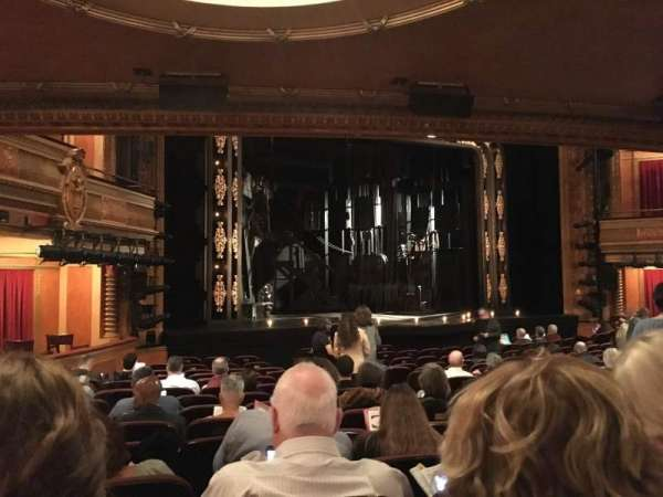 American Airlines Theatre, secção: Orchestra C, fila: O, lugar: 115