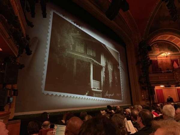 American Airlines Theatre, secção: Orchestra L, fila: F, lugar: 13