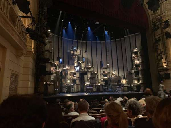 Samuel J. Friedman Theatre, secção: Orchestra L, fila: H, lugar: 123