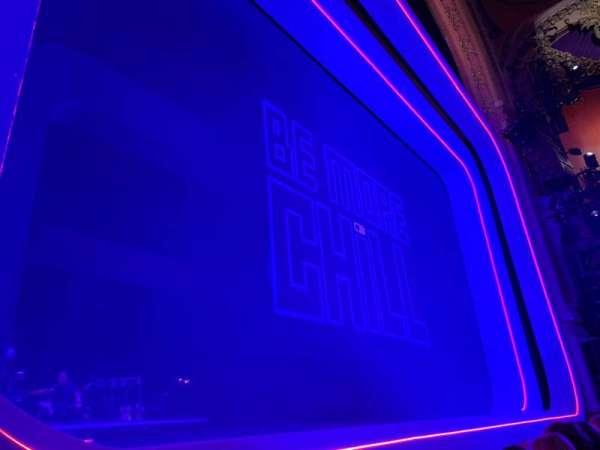 Lyceum Theatre (Broadway), secção: Orchestra, fila: B, lugar: 5