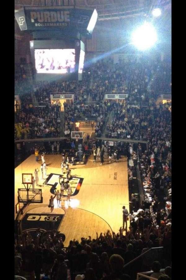 Mackey Arena, secção: 115, fila: 13, lugar: 14