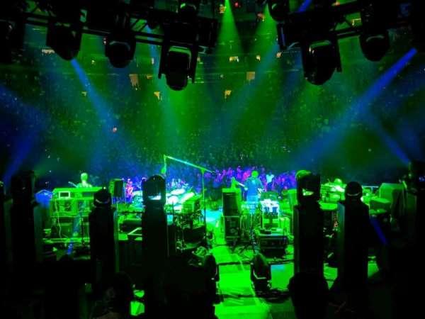 Madison Square Garden, secção: 105, fila: 16, lugar: 3