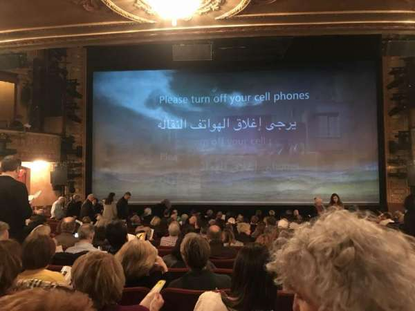 Ethel Barrymore Theatre, secção: Orchestra C, fila: O, lugar: 109