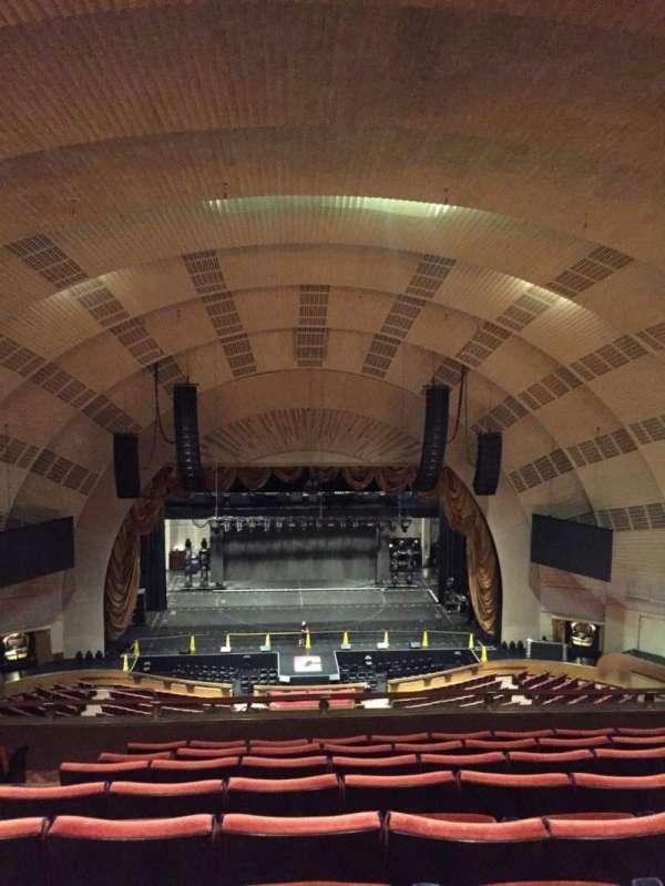 Radio City Music Hall, secção: 3rd Mezzanine 4, fila: H, lugar: 411