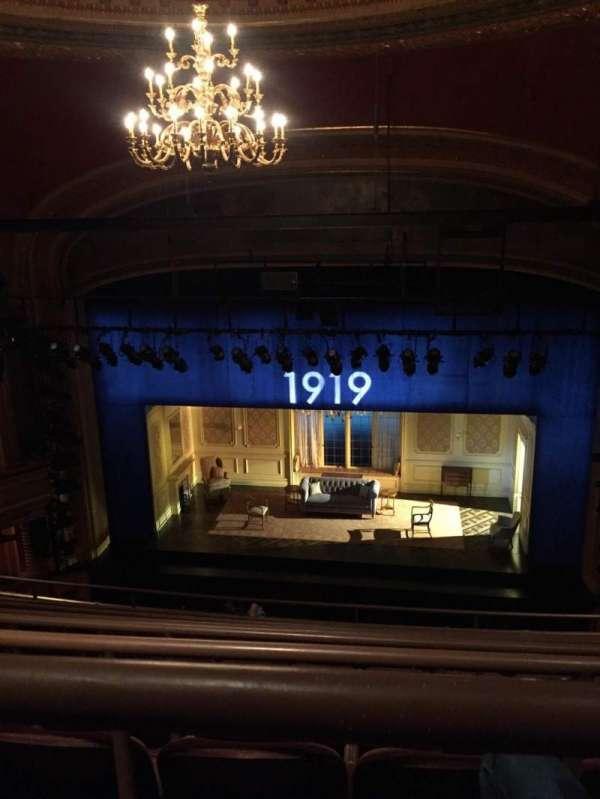 American Airlines Theatre, secção: Rear Mezzanine, fila: G, lugar: 113