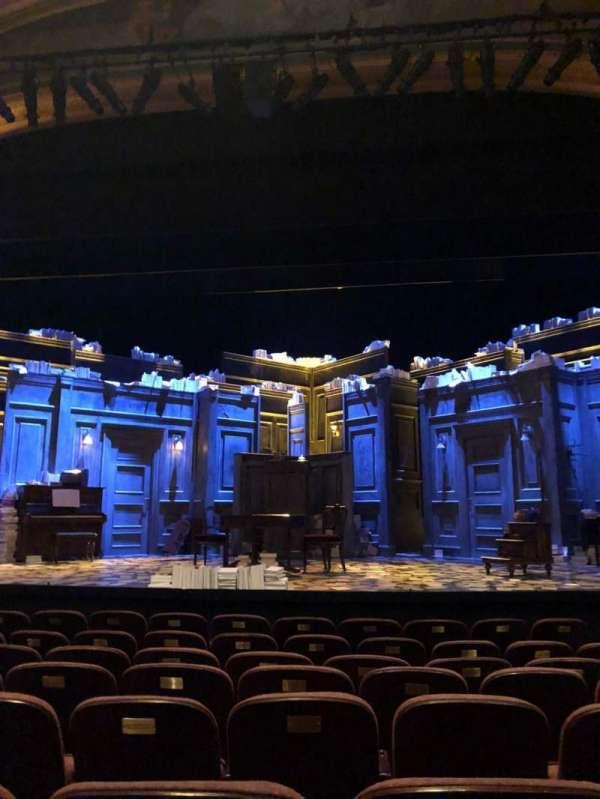 American Airlines Theatre, secção: Orchestra C, fila: H, lugar: 105